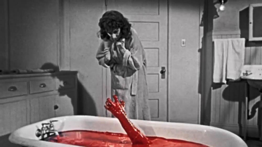 Judith Evelyn - The Tingler (1959) Renkli Sahne