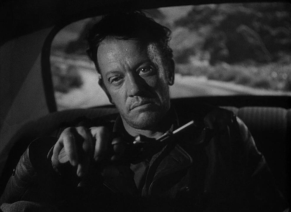 William Talman - The Hitch-Hiker (1953)