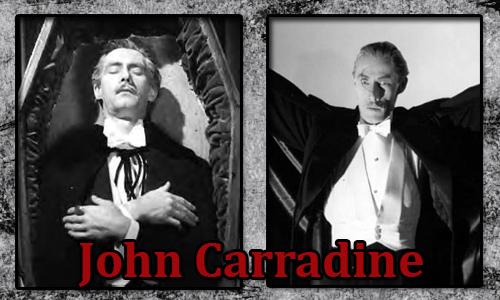 John Carradine - Dracula