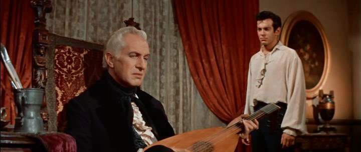 Vincent Price, Mark Damon - House of Usher (1960)