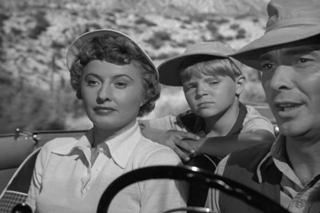 Barbara Stanwyck, Barry Sullivan, Lee Aaker - Jeopardy (1953)