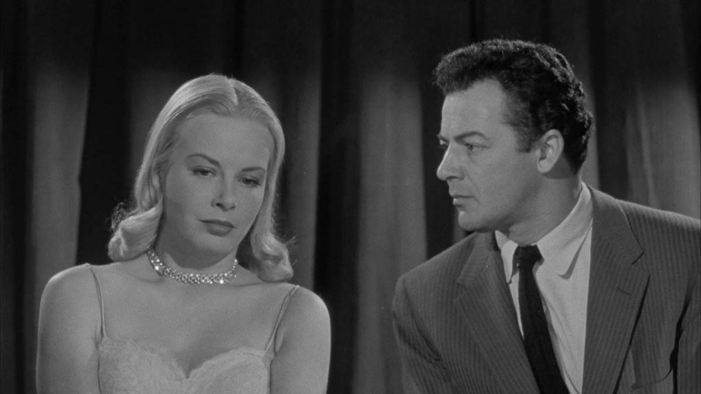 Jean Wallace, Cornel Wilde The Big Combo (1955)