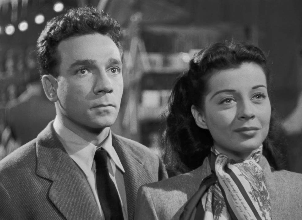 Dane Clark, Gail Russell - Moonrise (1948)