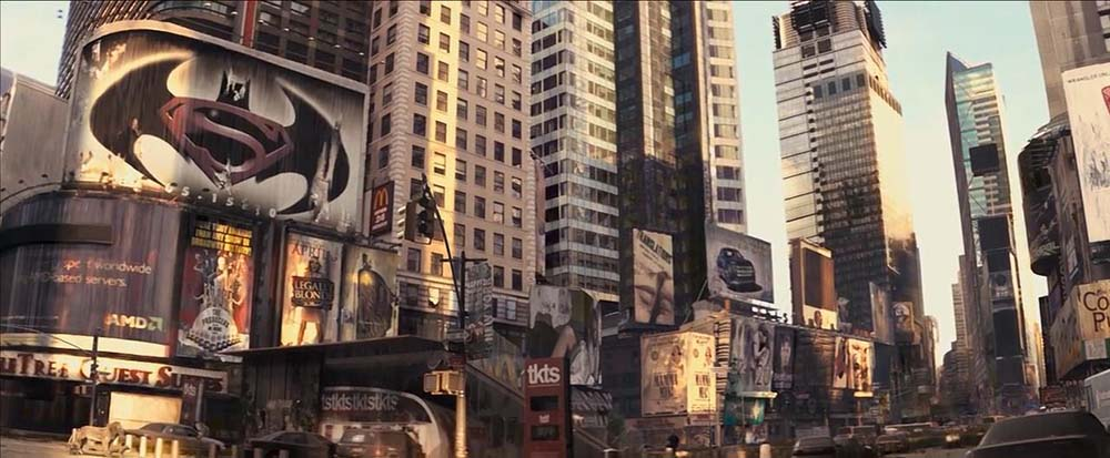 I Am Legend filminde Batman vs. Superman Posteri
