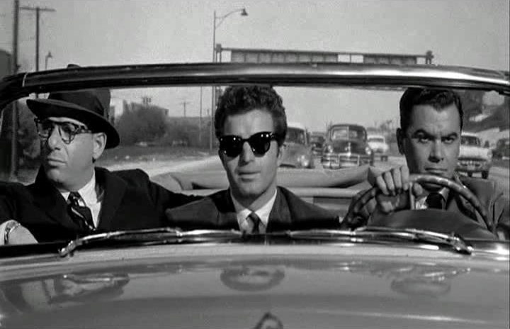 Herschel Bernardi, Vince Edwards, Phillip Pine - Murder by Contract (1958)