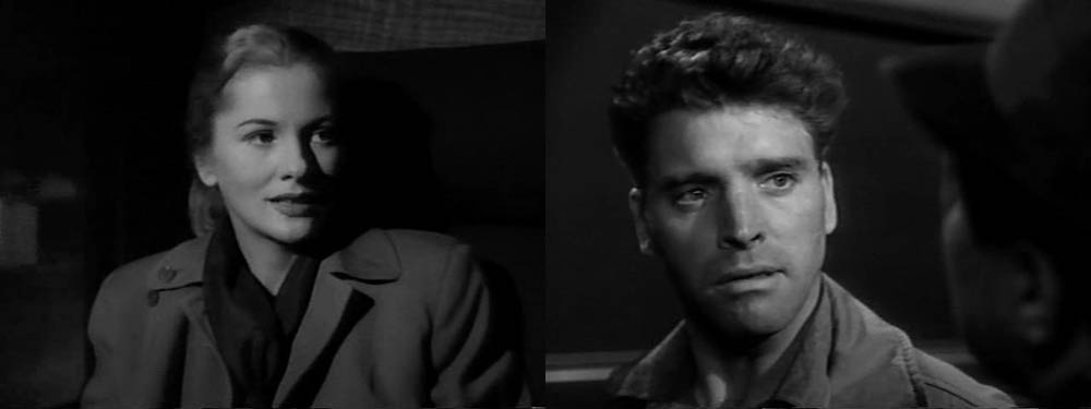 Joan Fontaine, Burt Lancaster - Kiss the Blood Off My Hands (1948)