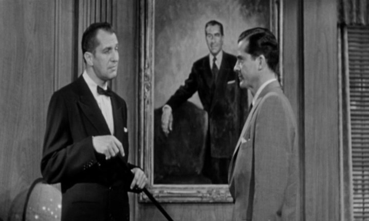 Vincent Price, Dana Andrews While the City Sleeps (1956)