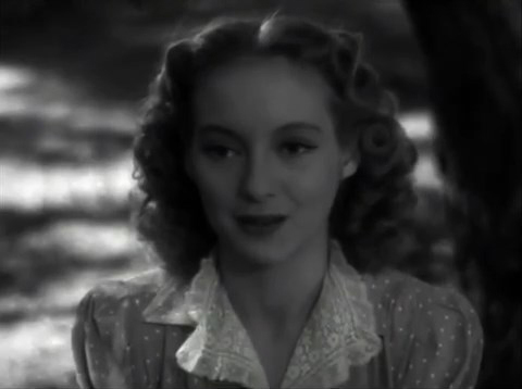 Evelyn Keyes - The Face Behind the Mask (1941)
