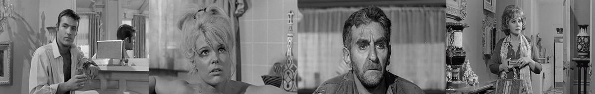 James Caan, Jennifer Billingsley, Ann Sothern, Jeff Corey - Lady in a Cage (1964)