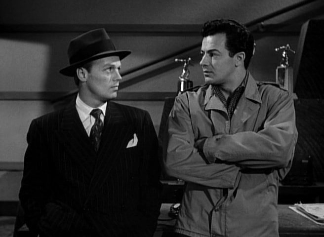 Richard Widmark, Cornel Wilde - Road House (1948)