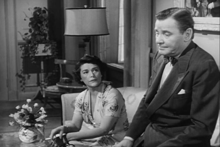 Barbara O'Neil, Herbert Marshall - Angel Face (1952)
