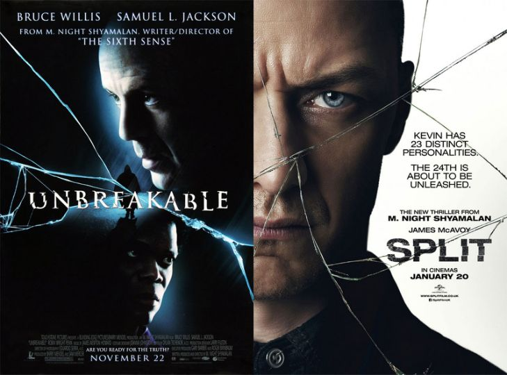Unbreakable (2000), Split (2016)