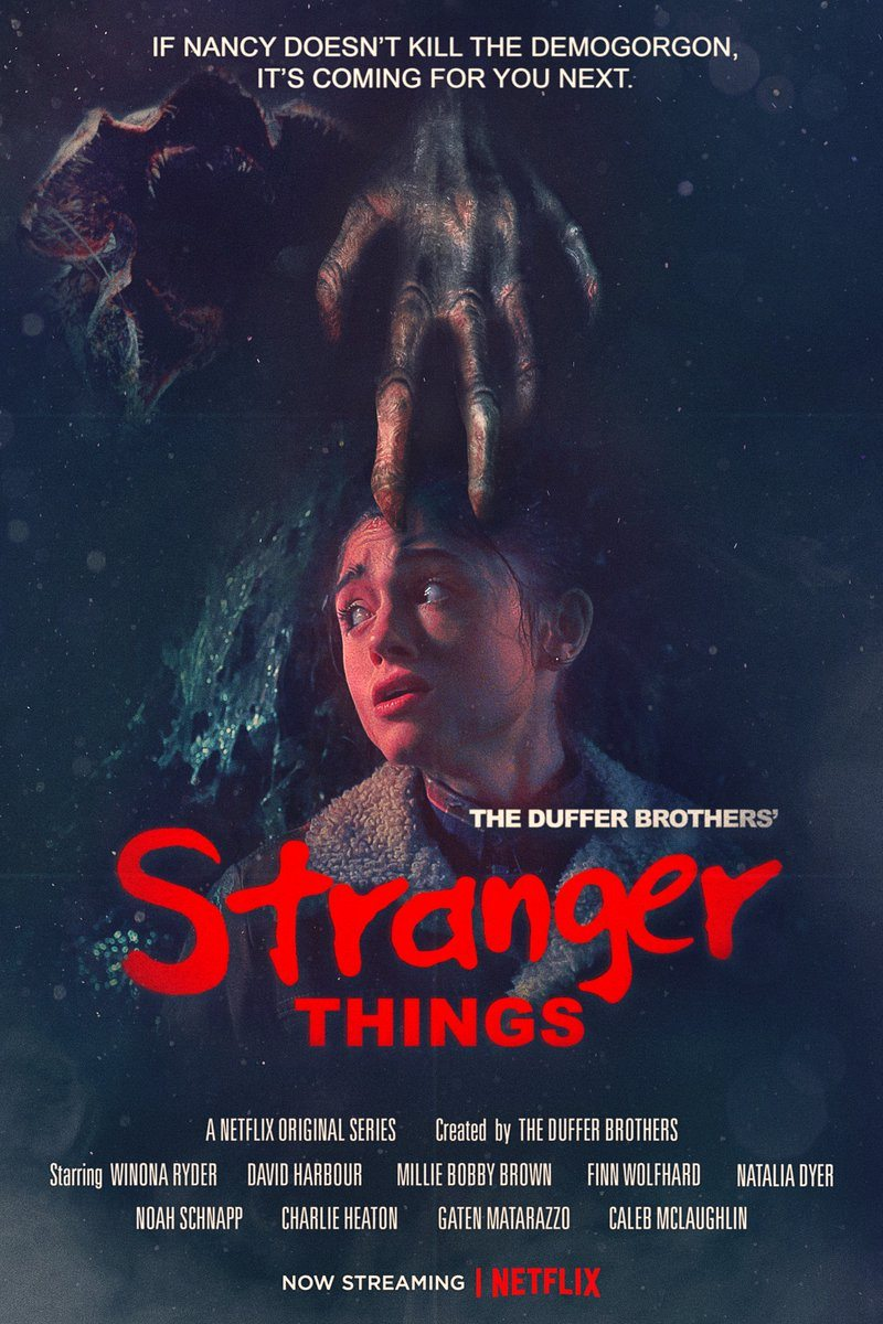 Stranger Things 2. Sezon Poster