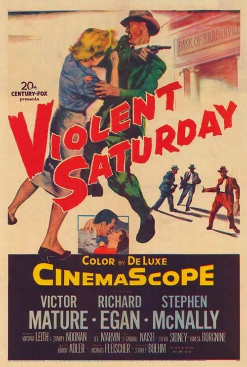 Violent Saturday (1955)