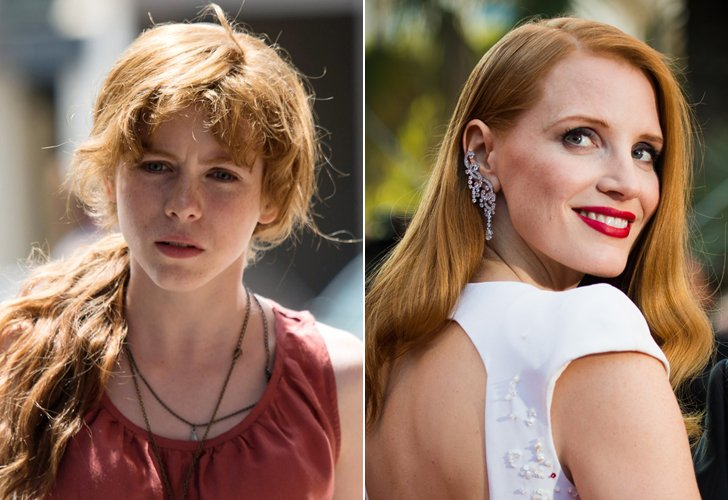 Beverly Marsh - Jessica Chastain