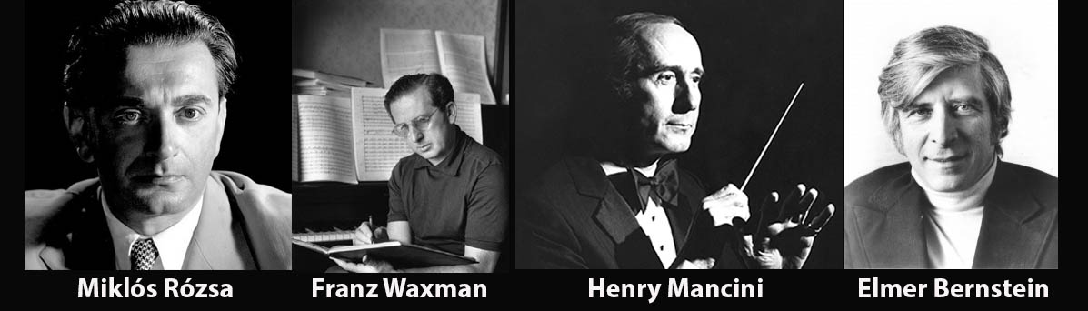 Kara Film Bestecileri - Miklós Rózsa, Franz Waxman, Henry Mancini, Elmer Bernstein