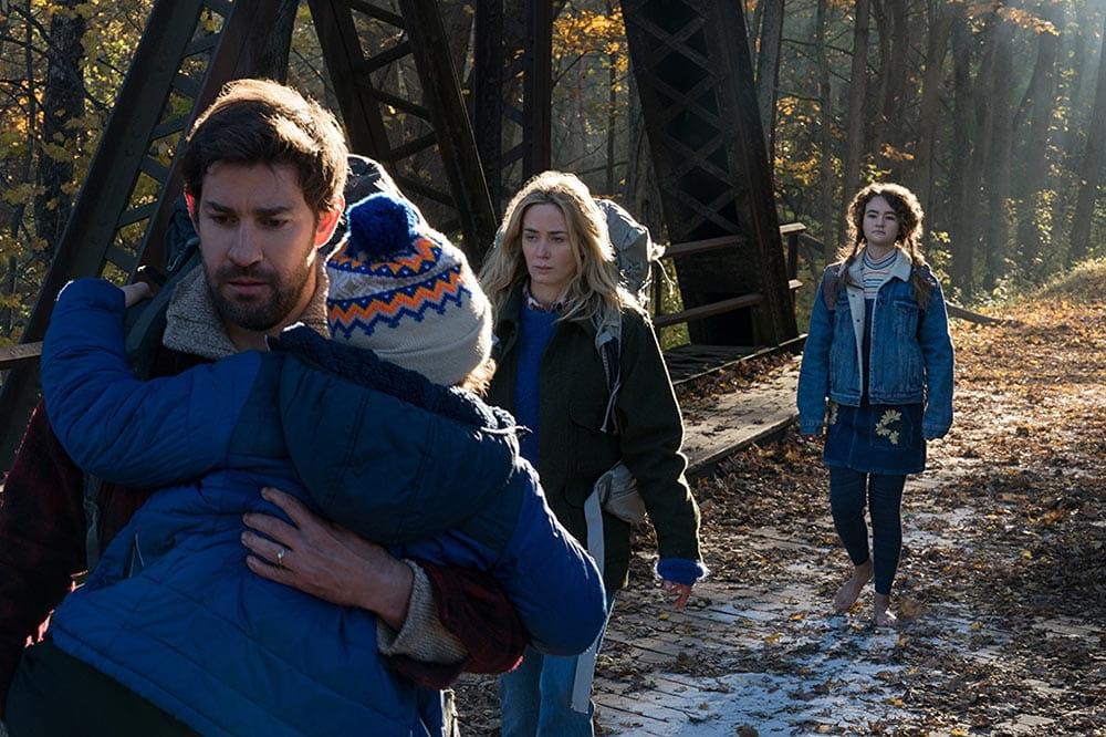 John Krasinski, Emily Blunt, Millicent Simmonds - A Quiet Place (2018)
