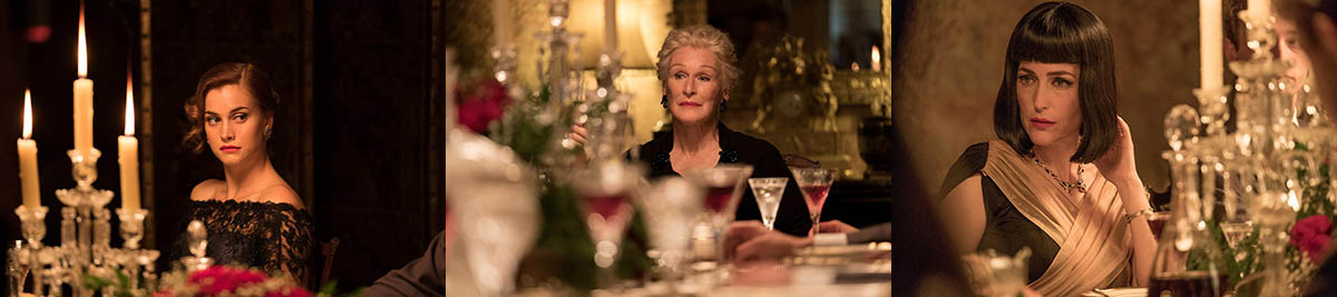 Stefanie Martini, Glenn Close, Gillian Anderson - Crooked House (2017)