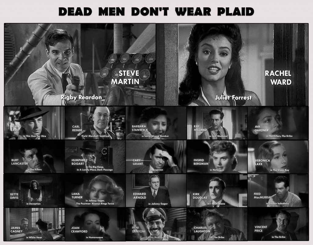 Dead Men Don't Wear Plaid Oyuncular - Cast