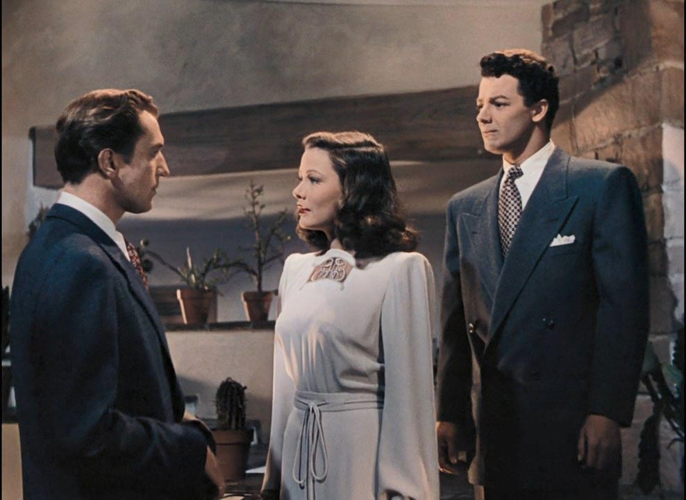 Vincent Price, Gene Tierney, Cornel Wilde - Leave Her to Heaven (1945)