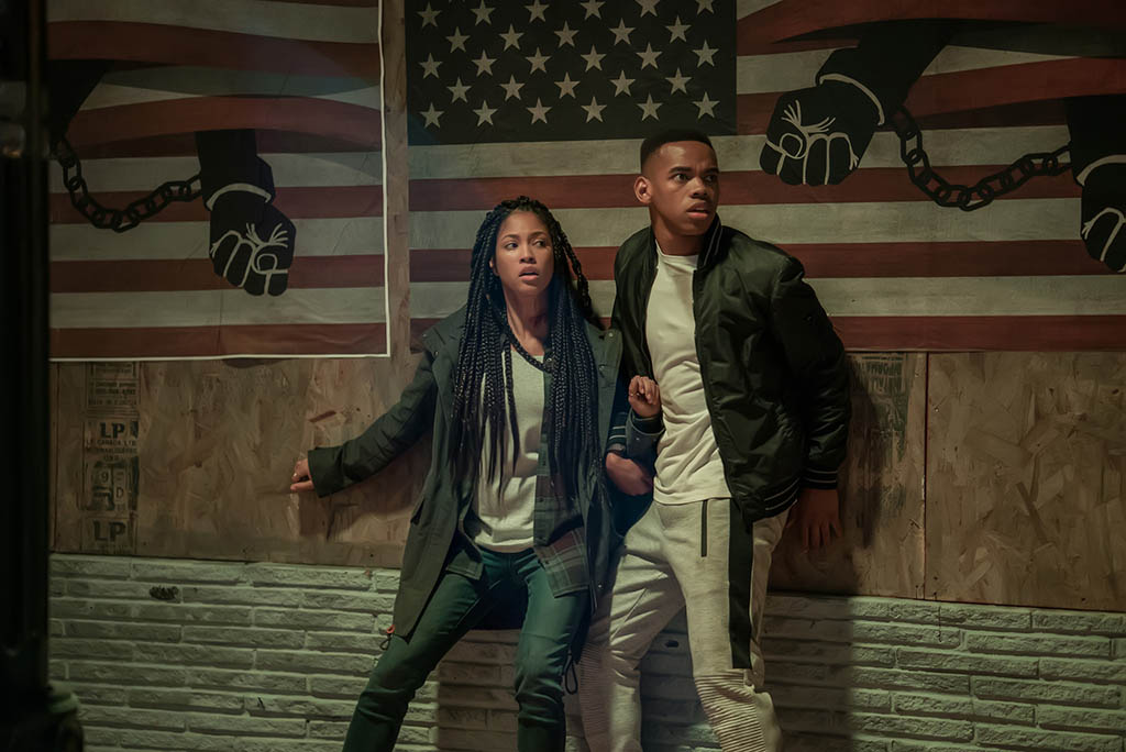 Lex Scott Davis, Joivan Wade - The First Purge (2018)