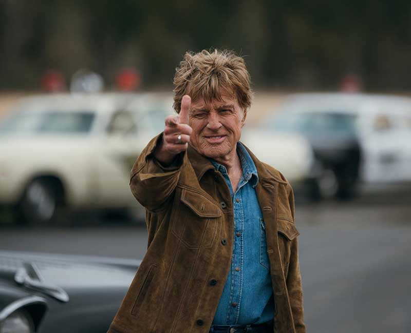 Robert Redford - The Old Man & The Gun (2018)