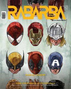 Rabarba Şenlik 19. Sayı (Ekim) - Marvel Evreni
