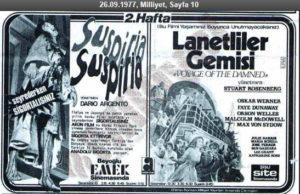 Suspiria (1977) Seyrederken Sigortalısınız