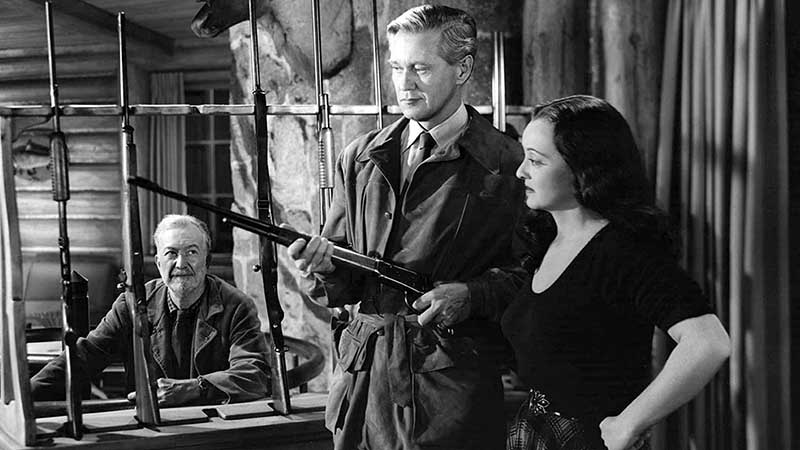 Minor Watson, David Brian, Bette Davis - Beyond the Forest (1949)