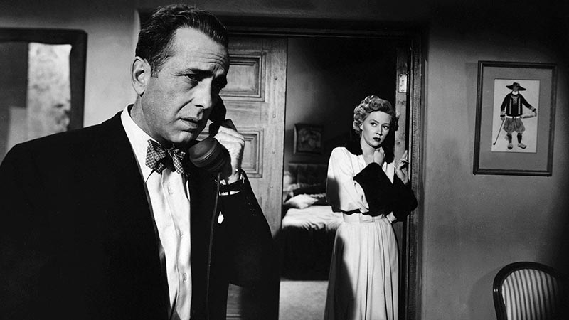Humphrey Bogart, Gloria Grahame - In a Lonely Place (1950)