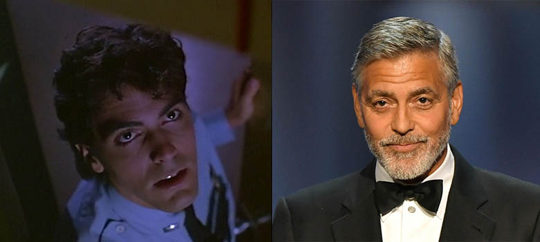 George Clooney- Grizzly II: The Concert (1987) / Return to Horror High (1987)