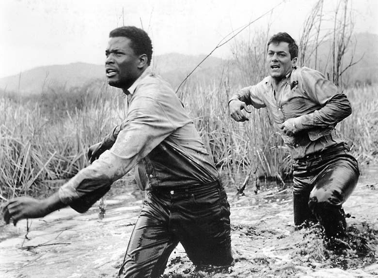 The Defiant Ones (Kader Bağlayınca, 1958) - Sidney Poitier, Tony Curtis