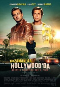 Once Upon a Time... in Hollywood (Bir Zamanlar Hollywood'ta, 2019) Afiş