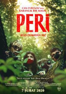 Peri: Ağzı Olmayan Kız (Girl With No Mouth, 2019) Afiş