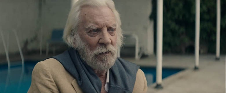 The Burnt Orange Heresy (2019) - Donald Sutherland