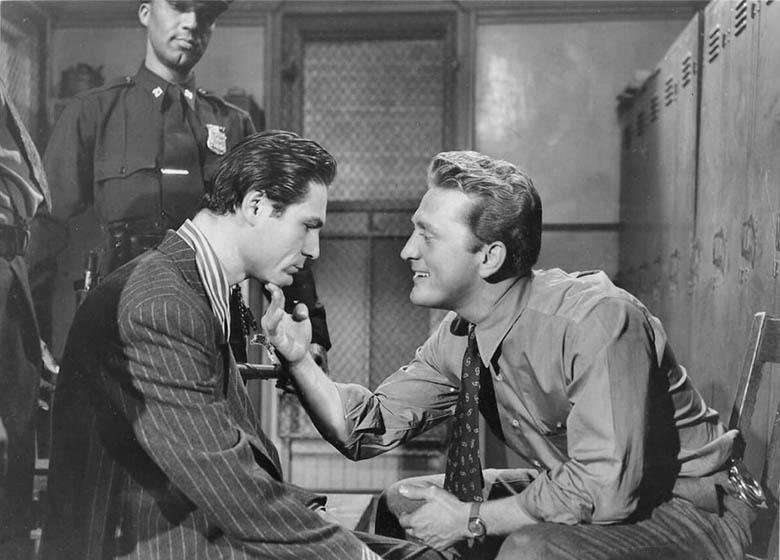 Detective Story (1951) - Joseph Wiseman, Kirk Douglas