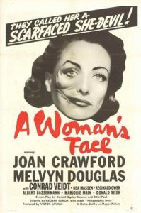 A Woman's Face (1941) Poster