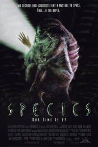 Species (Tehlikeli Tür, 1995) Poster