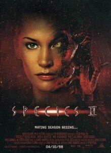 Species II (Tehlikeli Tür 2: Tendeki Vahşet, 1998) Poster