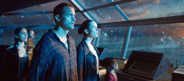 Godzilla vs. Kong (2021) - Alexander Skarsgard, Rebecca Hall